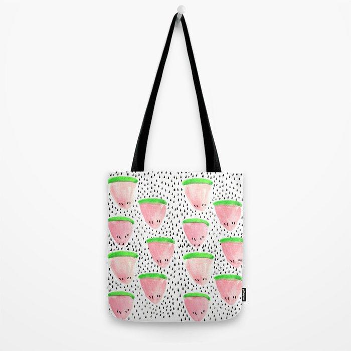 Watermelon Print II Tote Bag