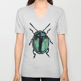 Blue Beetle Unisex V-Neck