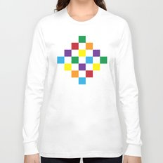 rainbow squares Long Sleeve T-shirt