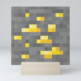 MC Gold Ore Mini Art Print