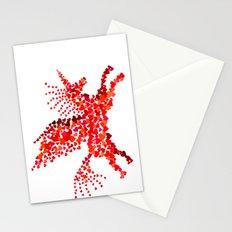 Extremely hearty unicorn pegasus Stationery Cards