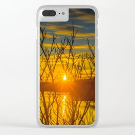 Look Me In The Eye, Sun Clear iPhone Case