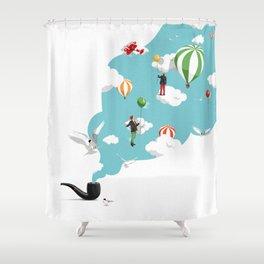 Pipe Dream Shower Curtain