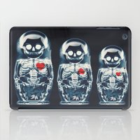 doll iPad Cases featuring Nesting Doll X-Ray by Ali GULEC