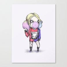 Suicide Harley Canvas Print