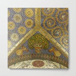 Mosaic Art - Fall of Mankind Metal Print