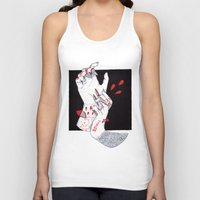 werewolf Tank Tops featuring Werewolf by scoobtoobins