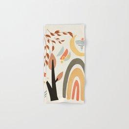 Abstract Summer 8 Hand & Bath Towel