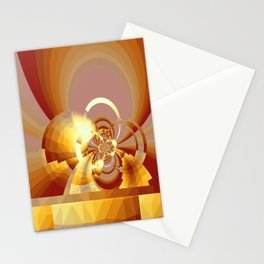 Gradienne Magna 62 Yellowish Stationery Cards