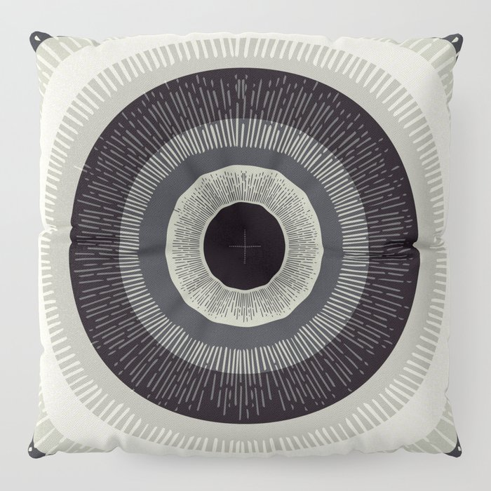Eye Just Can't Floor Pillow