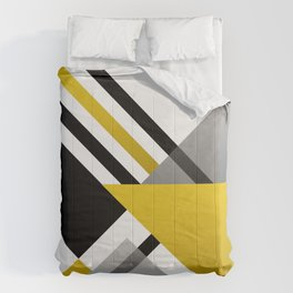 Sophisticated Ambiance - Silver & Gold Comforters