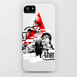 The man who wasn't there iPhone Case