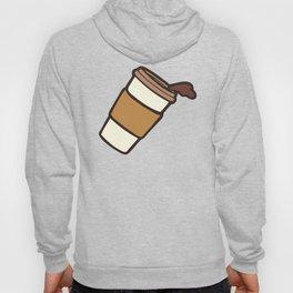 Take it Away Coffee Pattern Hoody
