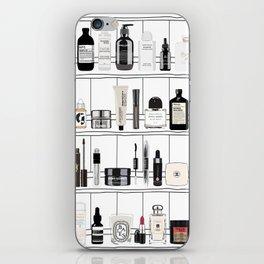 The Black & White shelf iPhone Skin