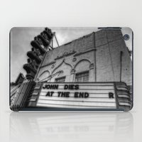 theatre iPad Cases featuring The Texas Theatre by Mark Alder