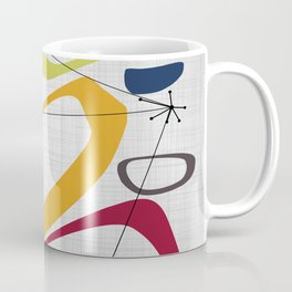 Mid Century Modern Art Coffee Mug