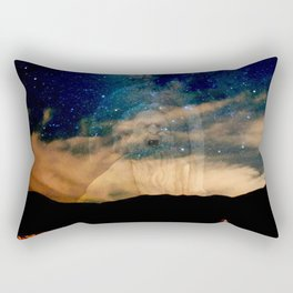 Saturn, Karma, Limitations Rectangular Pillow