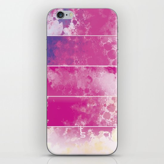 Color Texture (Five Panels Series) iPhone & iPod Skin