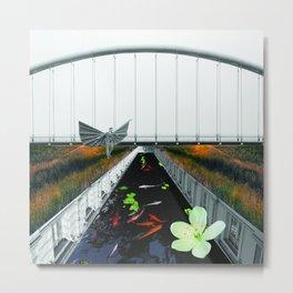 Kio pond Metal Print