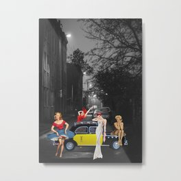 TO THE MUSEUM Metal Print
