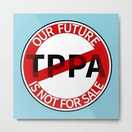 TPPA Metal Print