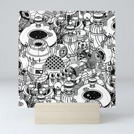 Dark Matter Space Machine Mini Art Print