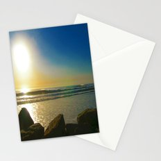 Orange Horizon Stationery Cards