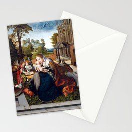 Bernard van Orley Virgin and Child with Angels Stationery Cards