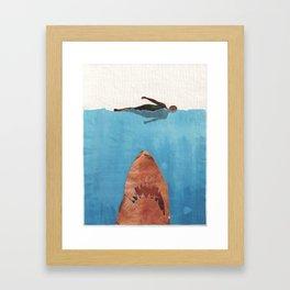 Fish Food Framed Art Print