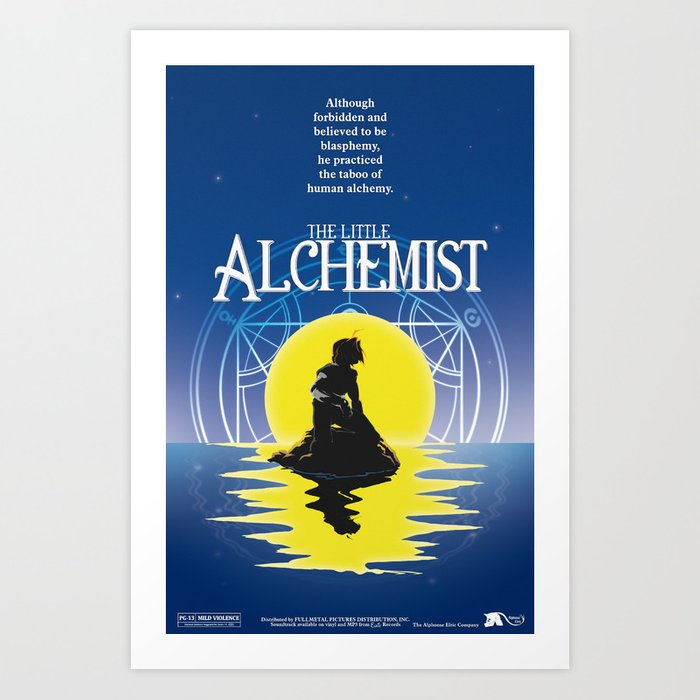 The Little Alchemist Art Print