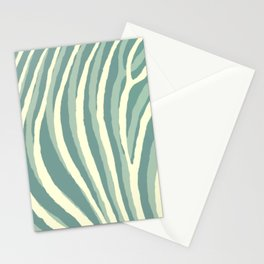 Artistic Zebra Pattern #2 Stationery Cards