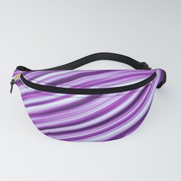 Abstract colored stripes background 6 Fanny Pack