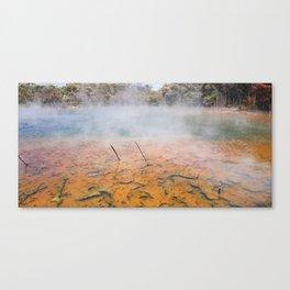 Rotorua Vulcanic Waters Canvas Print