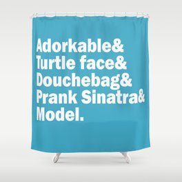 New Girl Squad. Shower Curtain