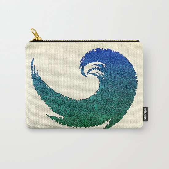 - summer wave - Carry-All Pouch