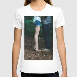 Legs of a Couple Kissing T-shirt