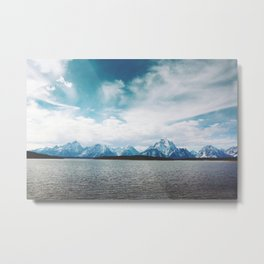 Dreaming of Mountains and Sky Metal Print