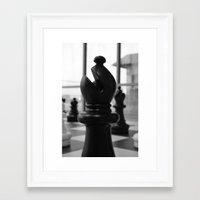 kate bishop Framed Art Prints featuring Bishop by Nur Simsek