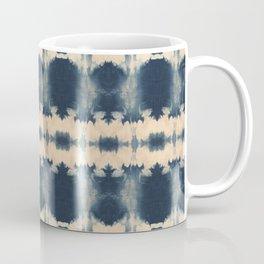 Indigo Beetle Shibori Coffee Mug
