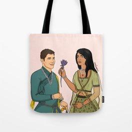 Nick and Priyanka Tote Bag