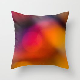 Abstract Background Candle Throw Pillow