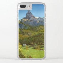 Italian Daydream Clear iPhone Case