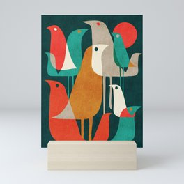 Flock of Birds Mini Art Print