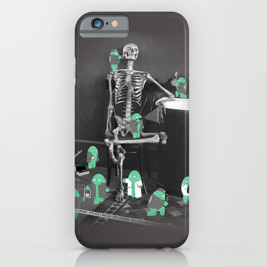 Crime Scene Investigation iPhone & iPod Case