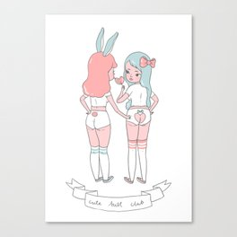 Cute Butt Club Canvas Print