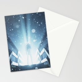 Enter the Frozen Light Stationery Cards