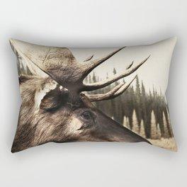 Tom Feiler Moose Rectangular Pillow