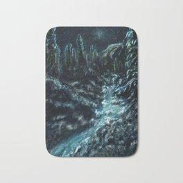 I Dream Of Snow Bath Mat