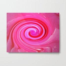 Cosmic Pink Metal Print