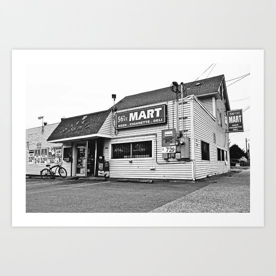 56th St. Mart Art Print